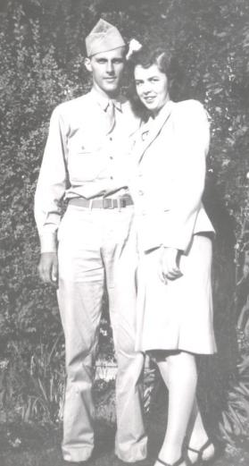 Mom Dad WWII